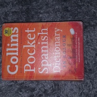 Collins Pocket Spanish Dictionary in Color