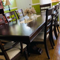 9 Pc Dining Table