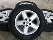 Nissan X-trail Rims and Tyres