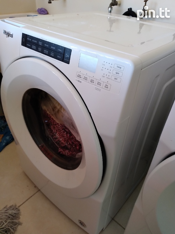 Washer and dryer front loader-2
