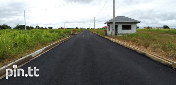 Lovely land in gated community in Chaguanas, 5000sqft-6