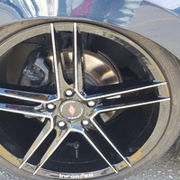18 inch rims and tyres, 5 hole