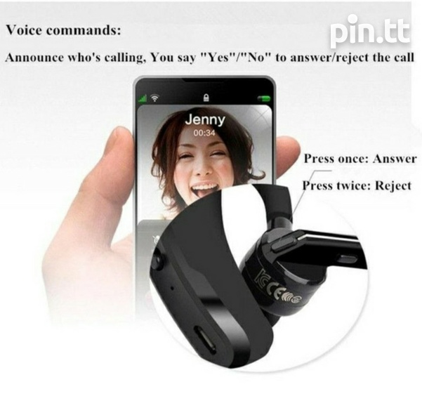 V8 Wireless Stereo Bluetooth Headset Read Specs When Scrolling Pics-8