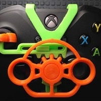 3d printed mini wheel for PS4 , PS5 and xbox controllers