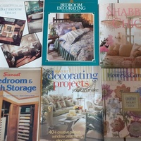 Books on Crafting, Cooking and Decorating