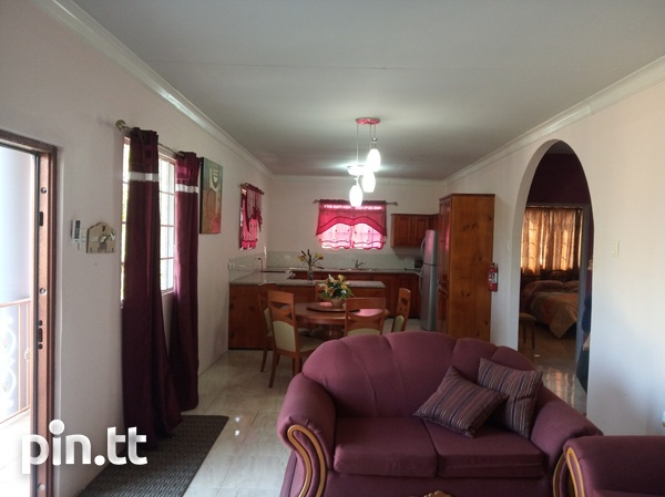 Furnished Two Bedroom Apartment, Lange Park Chaguanas-5