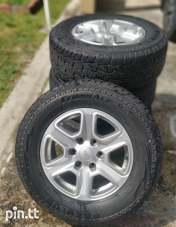 17 inch rims and tyres-1