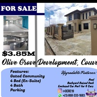 Olive Grove, Couva 4 Bedroom House