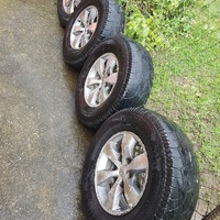 Toyota fortuner / hilux rims and tyres