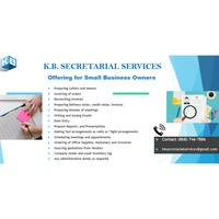 Secretarial, Typing & Letter Services