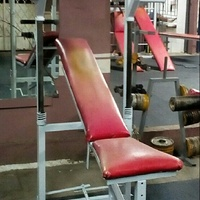Incline/Flat Chest Press Gym Machine
