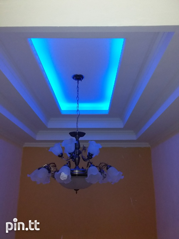 Gypsum and pvc ceilings-1