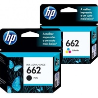 HP 662 Ink Black and Colour Combo