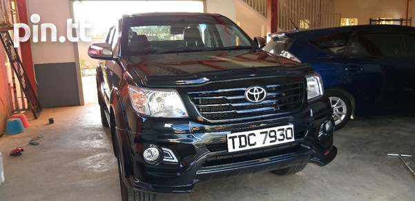 Toyota Hilux, 2013, PDC-3