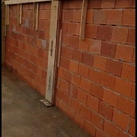 Professionally constructed block walls