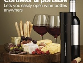 Cordless and Portable Wine Openers
