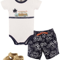 Toddler Outfit and Shoes