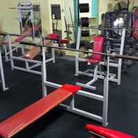 Gym Benches with Racks