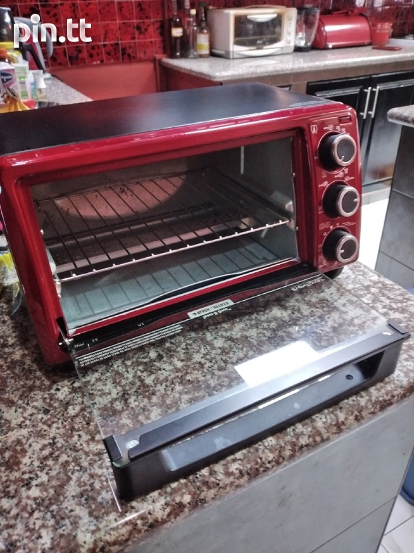 Toaster Oven, Black and Decker-4