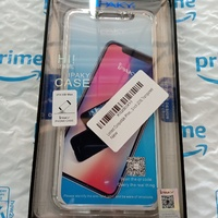 iPhone XS Max Slim Fit Hard Shell with Tempered Glass