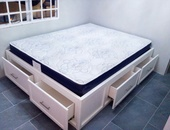 Four drawer bed base only