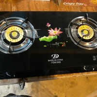 Glass top stoves