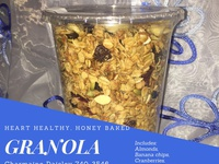Heart Healthy Granola