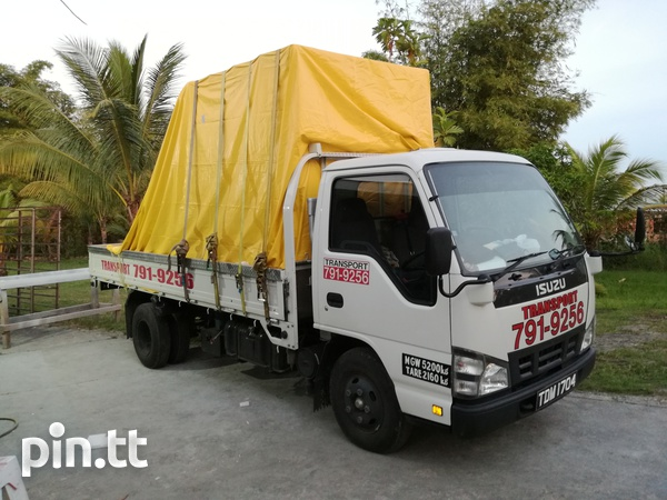 Transport for hire with Isuzu 3 ton truck and 1-1/4Ton Pickup.-8