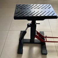Adjustable height motorcycle lift / jack stand, With Damper