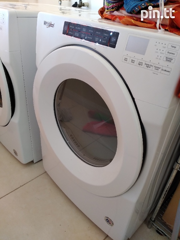 Washer and dryer front loader-1