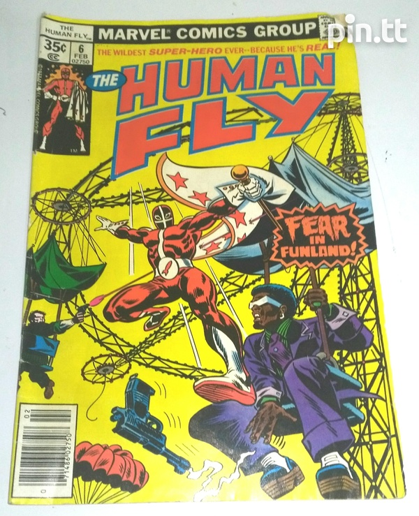The Human Fly Comic Book Collection-6