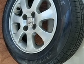 Original Toyota Rims with New Tyres