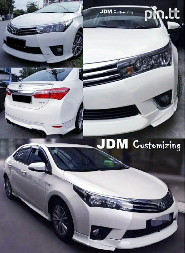 2014 - 2017 Corolla / Corolla Altis Body Kit-1