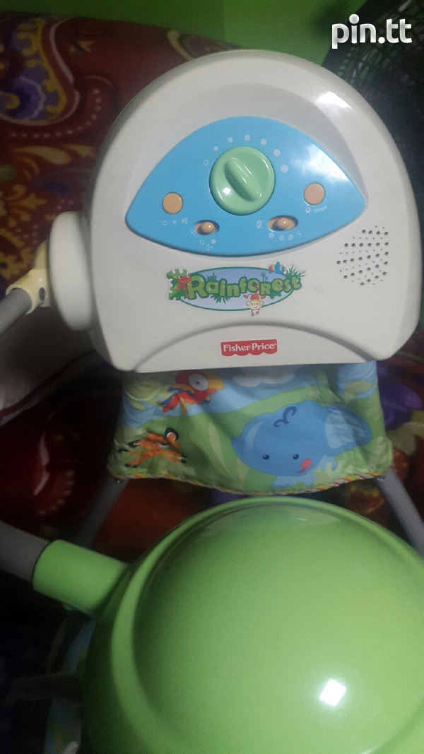 Baby swing and car seat-3