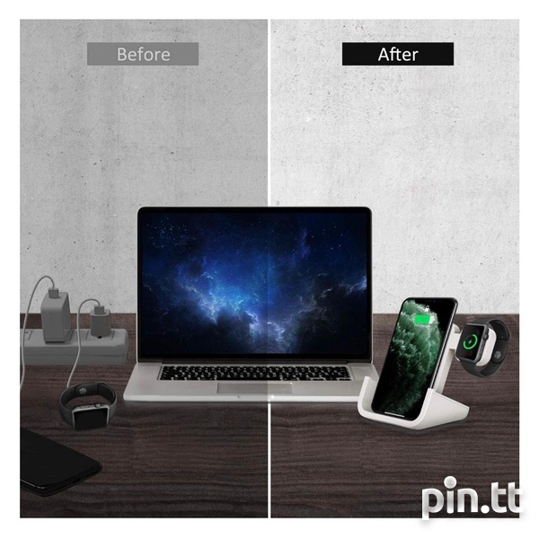 2 In 1 Wireless Charging Station.-4