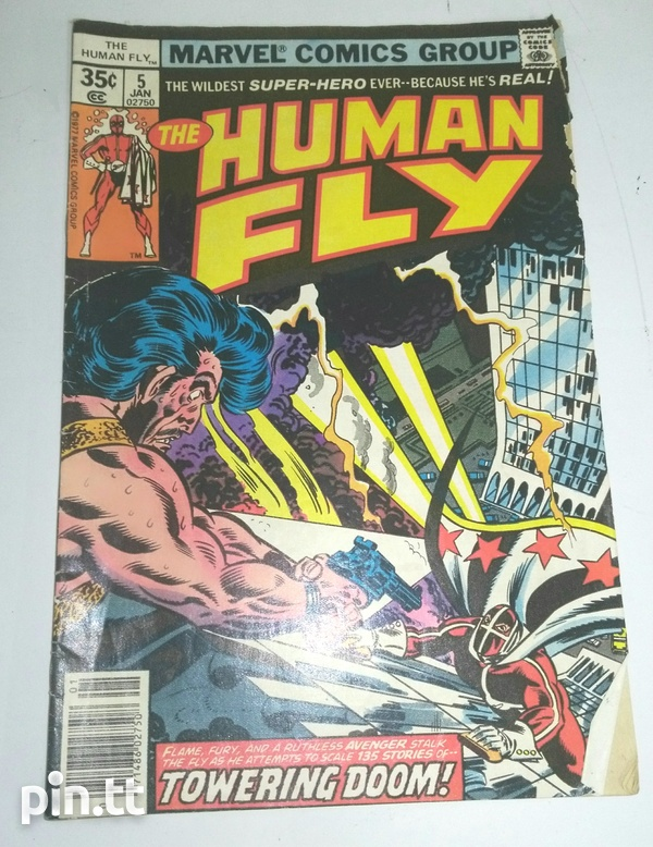 The Human Fly Comic Book Collection-5