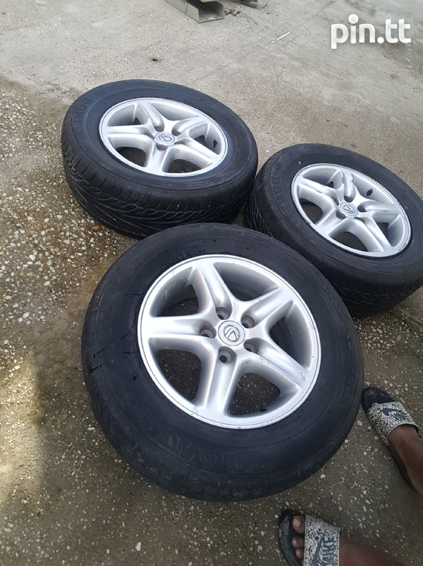 235/65/16 5 hole rims and tyres-3