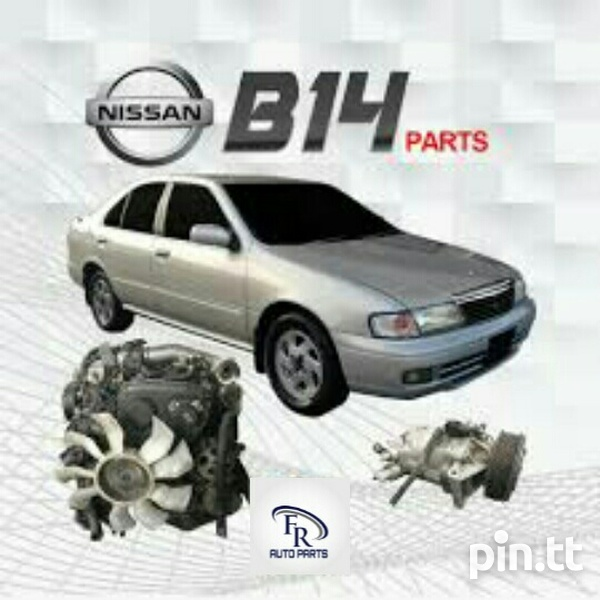 Nissan B14 Used Parts-1