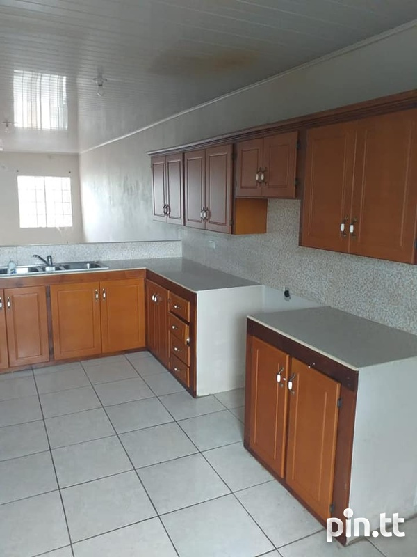 Chaguanas Unfurnished Stand Alone 3 Bedroom House-2