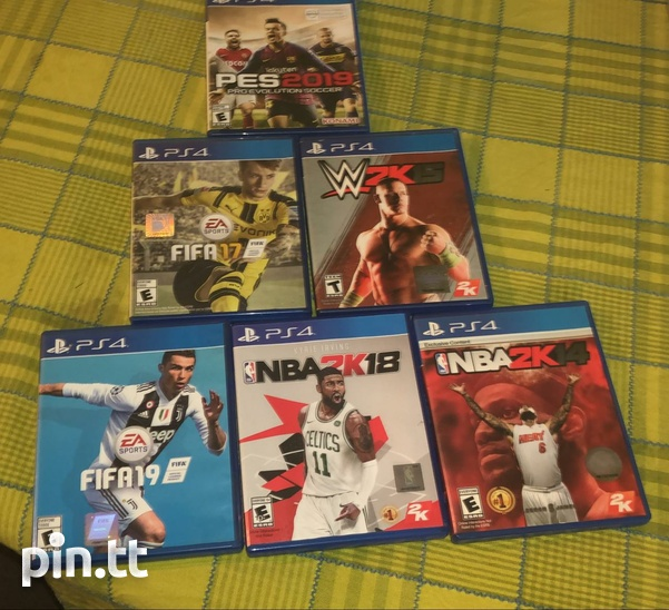 Fifa + Nba2k watch dogs god of war and call of duty combo ps4 games-1