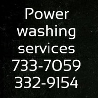Power washing and landscaping services