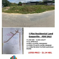 Gasparillo Land 13,985.54s/f