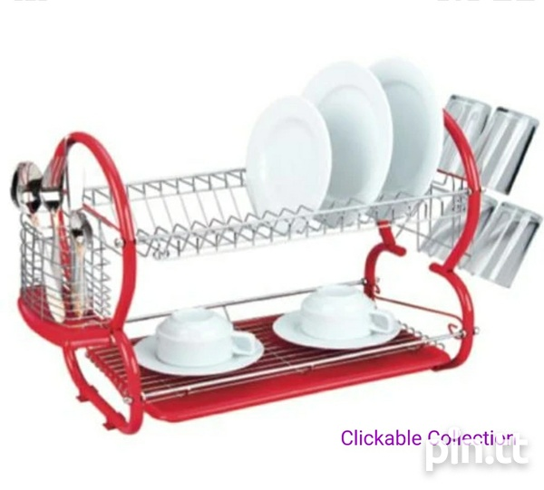 Kennedy's Home Collection 2 Layer Dish Rack-1