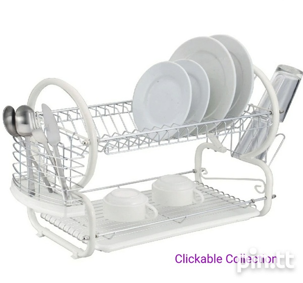 Kennedy's Home Collection 2 Layer Dish Rack-2