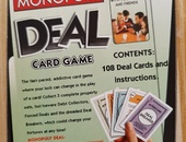 Monopoly card deal game