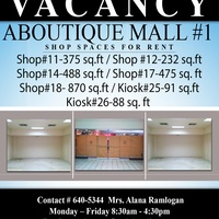 Mall Spaces -Aboutique Mall, POS