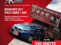 Nissan Note, 2017, Fully Loaded