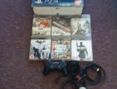ps3 with six games and 500 GB