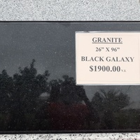 New Granite in stock and much more