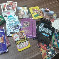 Nonsport card lot grab bag- sealed packs and loose cards